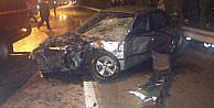 İtfaiye Aracı Otomobile Çarpti: 3 Yaralı