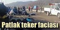 İzmir Dikilide feci kaza, 6 ölü 1 yaralı var