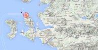 İzmir'de deprem, İzmir Karaburun 4.1'le sallandı
