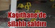 Kağıthane'de kahvehaneye silahlı saldırı, 1 ölü var