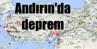 Kahramanmaraş'ta deprem : Andırın'da deprem 4.1