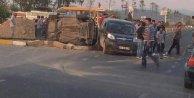 Denizli Honazda kaza;: Kamyonet otomobille çarpıştı: 1 ölü 3 yaralı