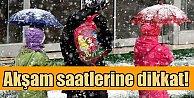 Kar yağışı başladı, okullar tatil, bugün hava durumu nasıl olacak!