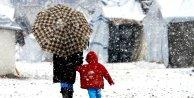 Kar yağışı  yerini soğuk ve dona bıraktı