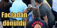 Kayseri Talasta Halk Otobüsü kazası