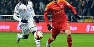 Kayserispor Fenerbahçe maç fotoları
