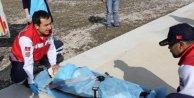 Kazada yaralanan çocuk ambulans helikopterle sevk edildi