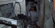 Kemerburgaz'da hafriyat kamyonu balıkçı restoranına girdi: 1 ölü, 1 yaralı