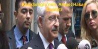 Kılıçdaroğlu, Ahmet Hakanı evinde ziyaret etti