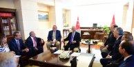 Kılıçdaroğlu, RUYİAD yönetim kurulu üyeleriyle görüştü