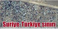 Kobani'de son durum, Sınırda dev otopark