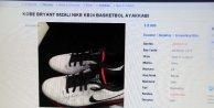 Kobe Bryant'ın imzalı ayakkabısı satılığa çıkartıldı