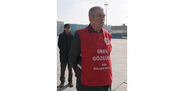 Kocaelide metal işçilere greve başladı