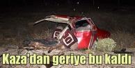 Konya Akörende feci kaza, 2 ölü 7 yaralı var