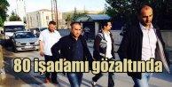 Konya merkezli operasyon: 80 işadamı gözaltında