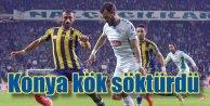 Konyaspor seyircisiyle Fener'i devirdi