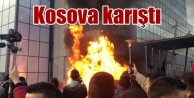 Kosova karıştı; Başbakanlık binası ateşe verildi