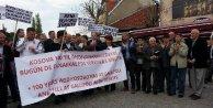 Kosovada Türk, Arnavut ve Boşnaklardan soykırım iddialarına protesto