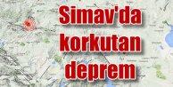 Kütahya Simav'da korkutan deprem: 4.1