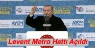 Levent Metro Hattı Açıldı