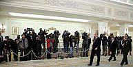Macaristan Büyükelçisi Gabor Kiss Çankaya Köşkünde