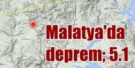 Malatyada deprem; Hekimhanda deprem 5.1 olarak ölçüldü