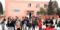 Mardin'deki okulda Mozartlı, Şivan Perwerli teneffüs