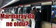 Marmarayda tüm seferler iptal; Marmaray patlama mı, arıza mı oldu?