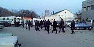 Maskeli Rus askerleri Tatar TV kanalı ATRyi bastı