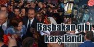 Meral Akşener, Tekirdağ'da Başbakan gibi karşılandı
