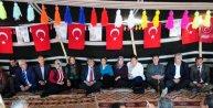 MHP Adana Milletvekili adayı Yörük Ali Paşaya, Yörük çadırı