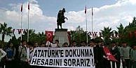 Milasta Atatürk Büstüne Saldırı (2)