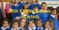 Milli Eğitim Bakanı'nın tatil açıklaması