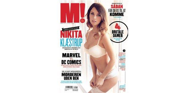 Muhafazakar Partili Klaestrup erkek dergisine kapak oldu