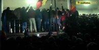 Muhalifler parlamento bastı: Moldova diken üstünde