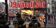 New Yorkta doğal gaz patlaması faciaya döndü