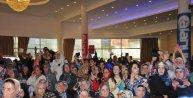 Nihat Hatipoğlu'na Alanya'da yoğun ilgi