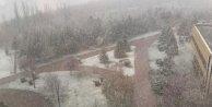 Nisan Ay'ında İstanbul'da Dolu Ankara'da Kar