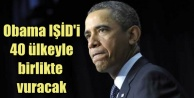 Obama, IŞİD için 40 ülke destek verecek