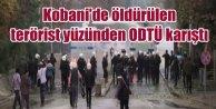 ODTÜde Kobanide ölen terörist için olaylar çıktı