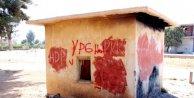 Okul duvarına PKK yazan şüpheli tutuklandı