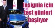 Opelden Insignia tutkunlarına özel Test Sürüşü fırsatı