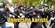 Osmangazi Üniversitesi'nde olaylar çıktı