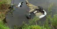 Otomobil gölete uçtu; 2 kişi boğuldu