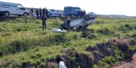 Otomobil şarampole uçtu: 2 ölü, 2 yaralı