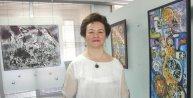 Parkinson hastası emekli öğretmen, resim yaparak hayata tutundu