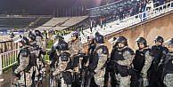 Partizan - Beşiktaş Maçında Geniş Güvenlik Önlemleri (fotoğraflı)