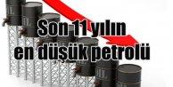 Petrol fiyatları son 11 yılın en düşük düzeyinde
