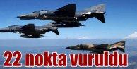 PKK 22 ayrı noktada ağır darbe yedi