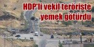 PKK acıktım dedi, HDP'li vekil aracına erzak yükleyip çıktı
